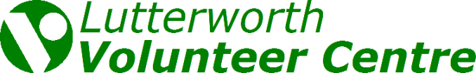 Header-Banner: Lutterworth Volunteer Centre.